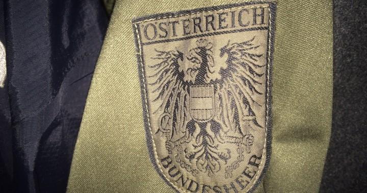 austriacka kurtka wojskowa